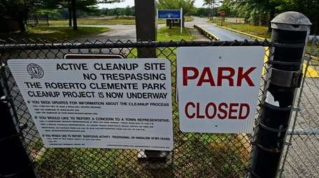 Roberto Clemente Park in Brentwood in 2015. The