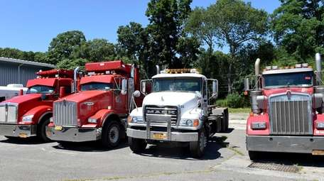 """Trucks seized as part of the """"Operation Pay"""