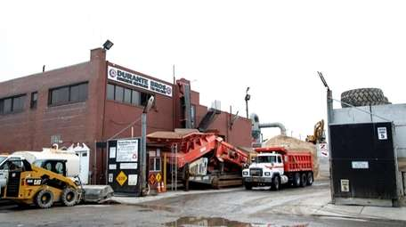 The Durante Bros Construction Corp. transfer station and