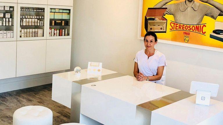 Karina Freedman, esthetician and owner of KarinaNYC Skin