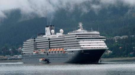 The Holland America ship Westerdam in August 2011
