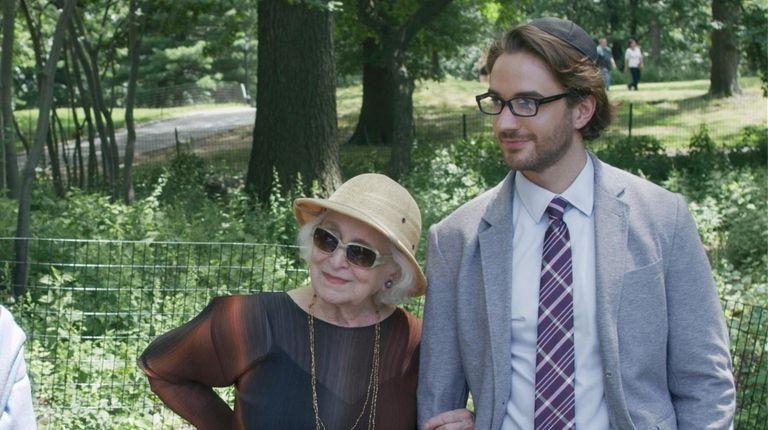 Claire (Rebecca Schull) and her great-grandson Josh (AJ