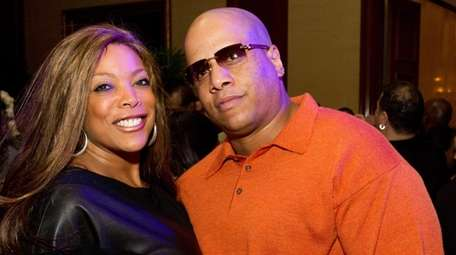 Wendy Williams and husband Kevin Hunter attend Aretha