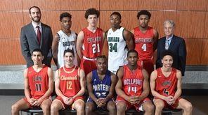 The 2018-19 Newsday All-Long Island boys basketball team.