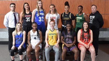 The 2018-19 Newsday All-Long Island girls basketball team.