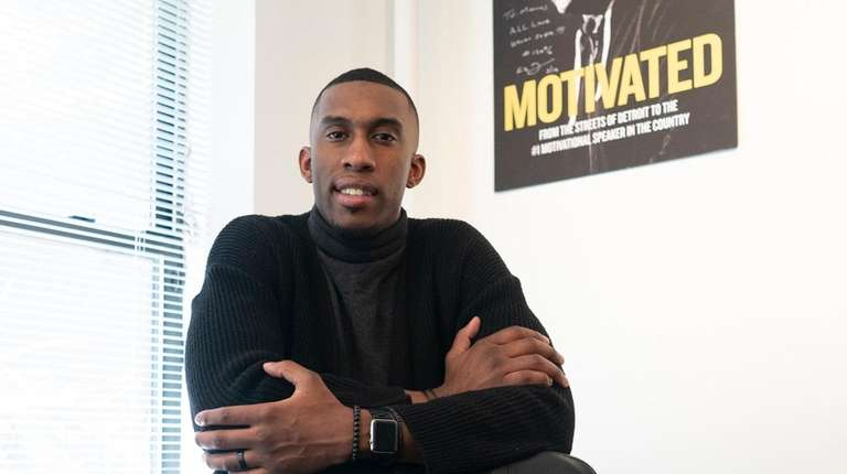 Basketball player-turned-entrepreneur Marcus Damas, founder of Fueled by