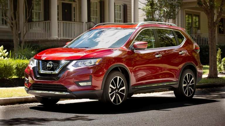 The Nissan Rogue was 2018's bestselling new vehicle
