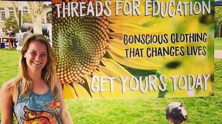 Paula Pecorella started a company, Therads for Education,