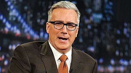 TV personality Keith Olbermann is seen in this