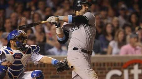 Nick Swisher #33 of the New York Yankees