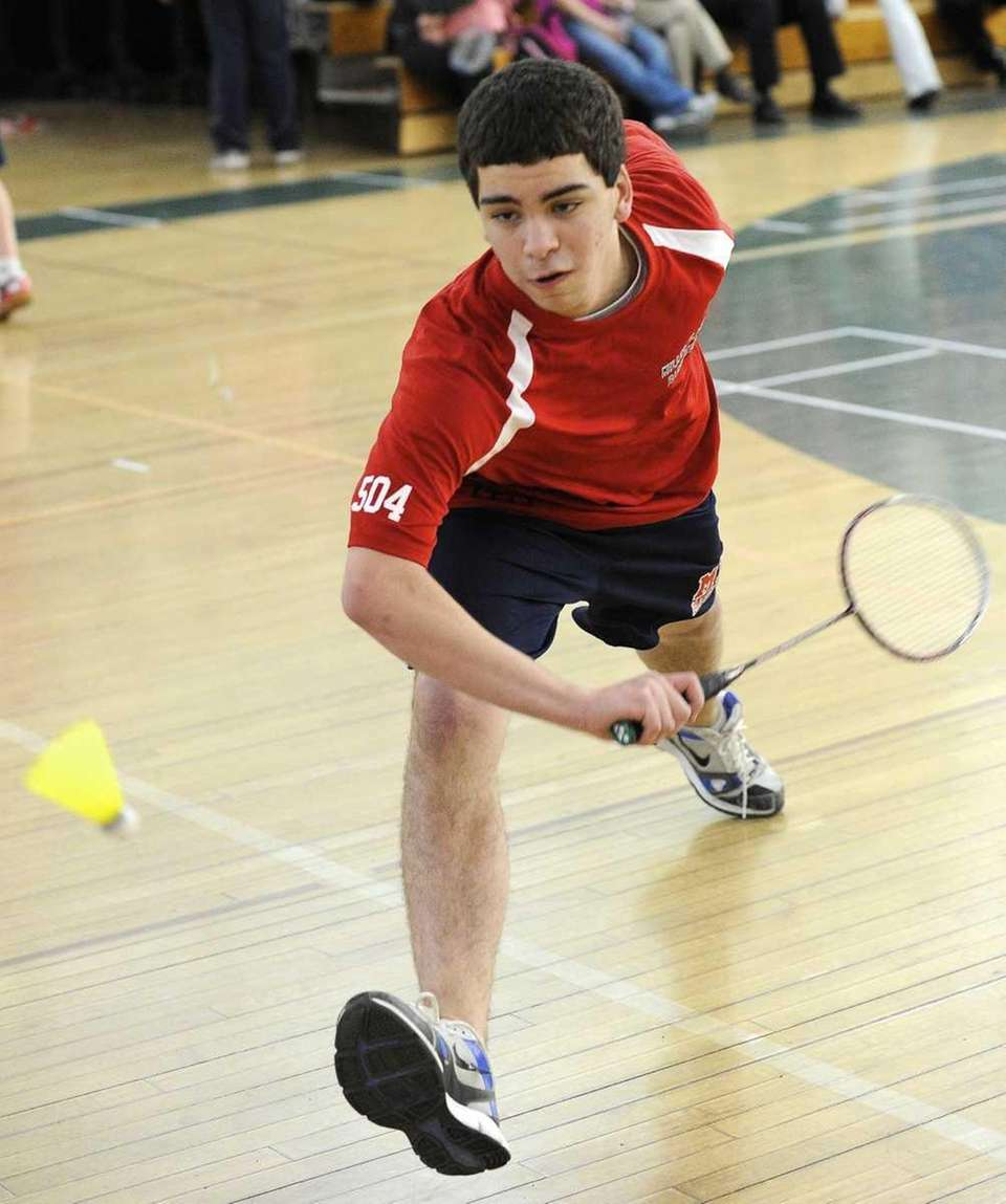 JESSE DIETRICHSON Miller Place Singles, Junior Finished the