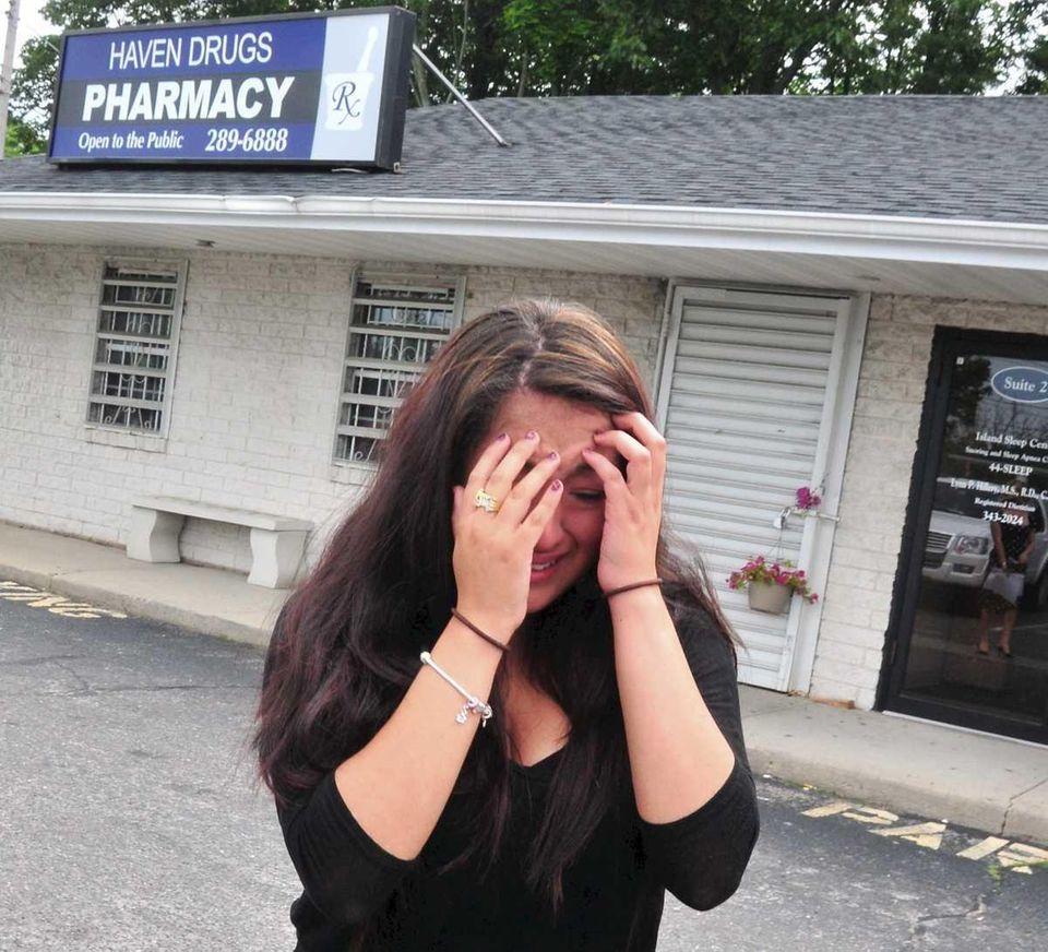 Lesley Mejia, sister of shooting victim Jennifer Mejia,