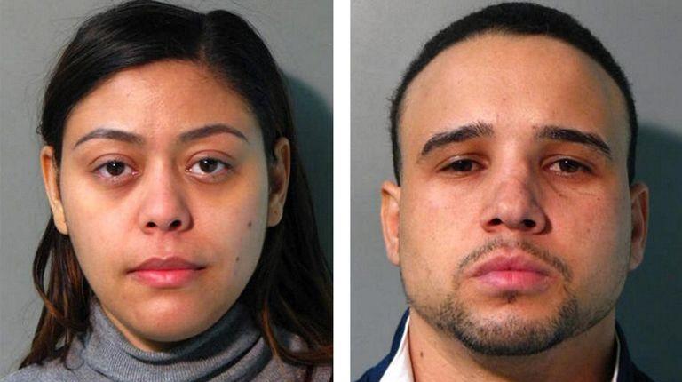 Lissette Rodriguez, 35, left, and Rigo Jose Batista