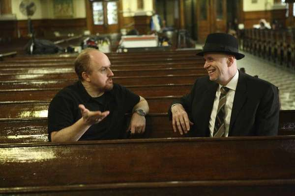 Louis C.K. stars in LOUIE, an new comedy