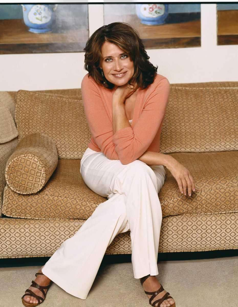 Actress Lorraine Bracco, best known for her roles