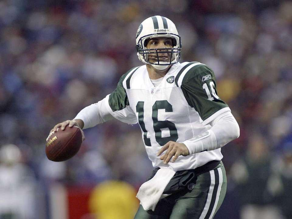 Vinny Testaverde, former football quarterback best know for