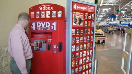 Redbox, a company that specializes in the rental