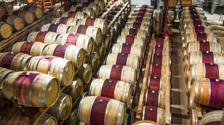 The barrel and tank room holds the 2013