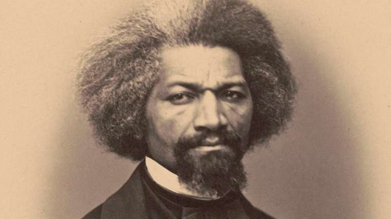 Abolitionist, writer and statesman Frederick Douglass, who's featued