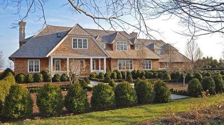 Two multimillion-dollar, Michael Davis-built homes in Sagaponack have