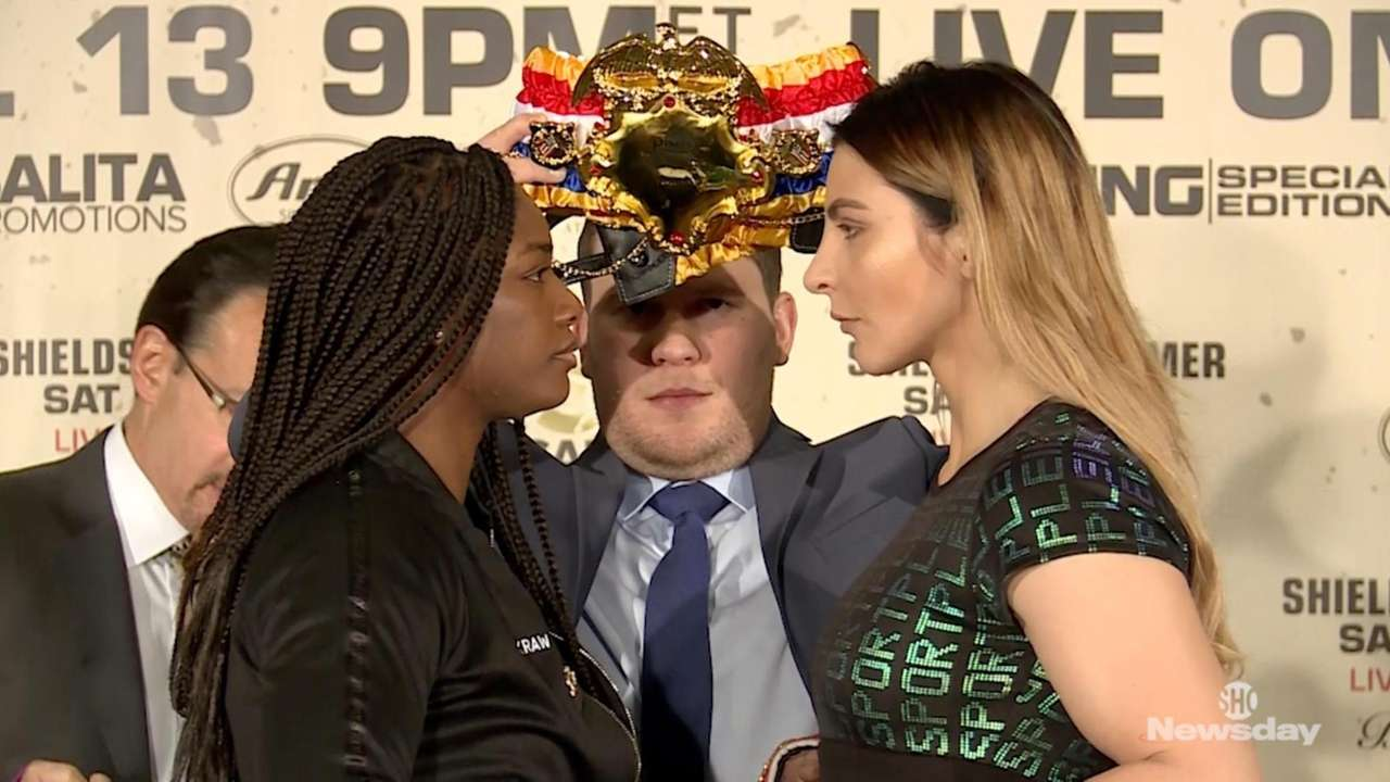 Claressa Shields and Christina Hammer continue their war