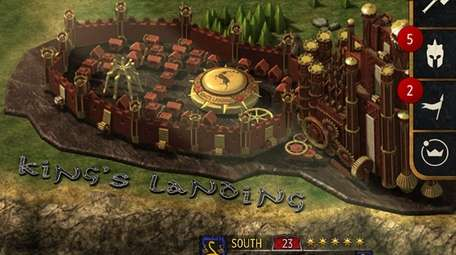 Game of Thrones: Conquest is the official app