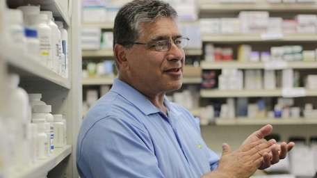 Vincent Conte, a pharmacist of Moby Drugs in
