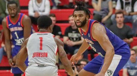 Long Island Nets players will wear the winning