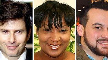 Lee Rosenberg, Nancy Manigat and Chris R. Vaccaro