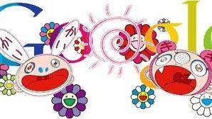 Google doodle by Takashi Murakami commemorates the summer