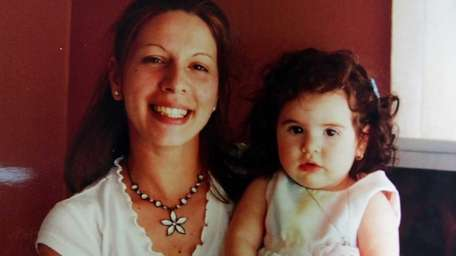 Shooting victim Jaime Taccetta with her daughter, Kaitlyn,
