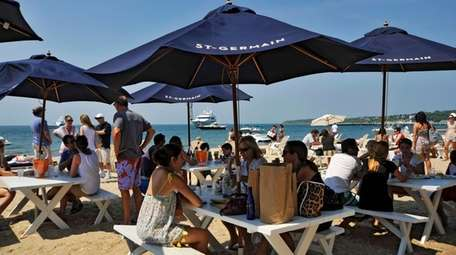 Navy Beach, Montauk: At this beachfront eatery, you