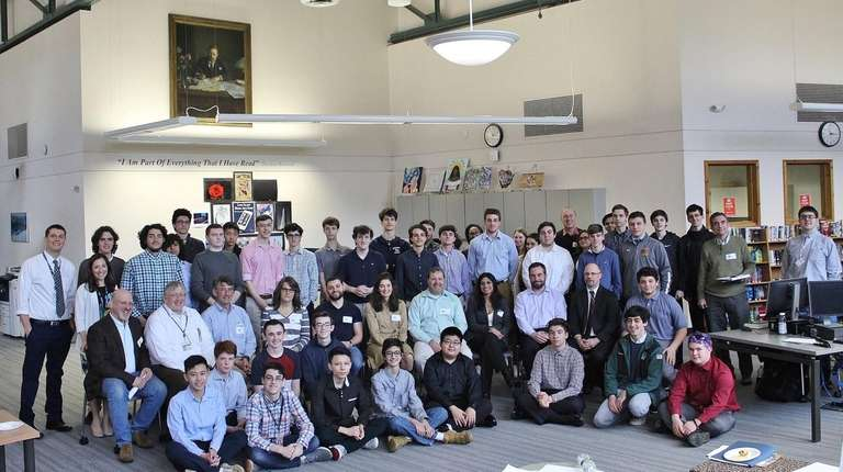 Oyster Bay High School students gained a better