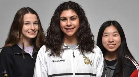 Members of the 2018-19 Newsday All-Long Island girls