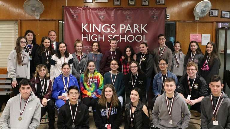 More than 20 students were winners in Kings