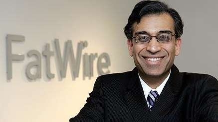 Yogesh Gupta at FatWire headquarters