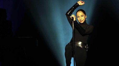 Sade performs at Nassau Coliseum in Uniondale. (June
