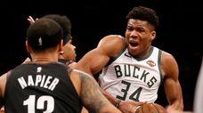 Giannis Antetokounmpo led the Bucks to the NBA's