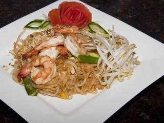 Frankly Thai restaurant's shrimp pad Thai. (June 4,