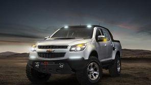 Chevrolet Colorado Rally Concept.