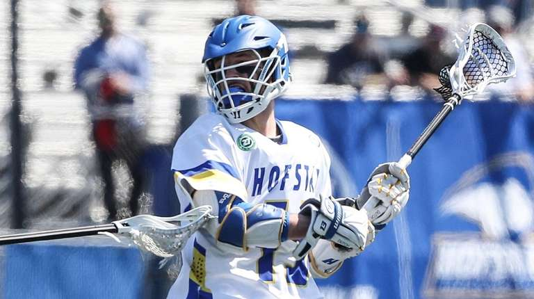 Hofstra's Ryan Tierney sets to shoot on goal