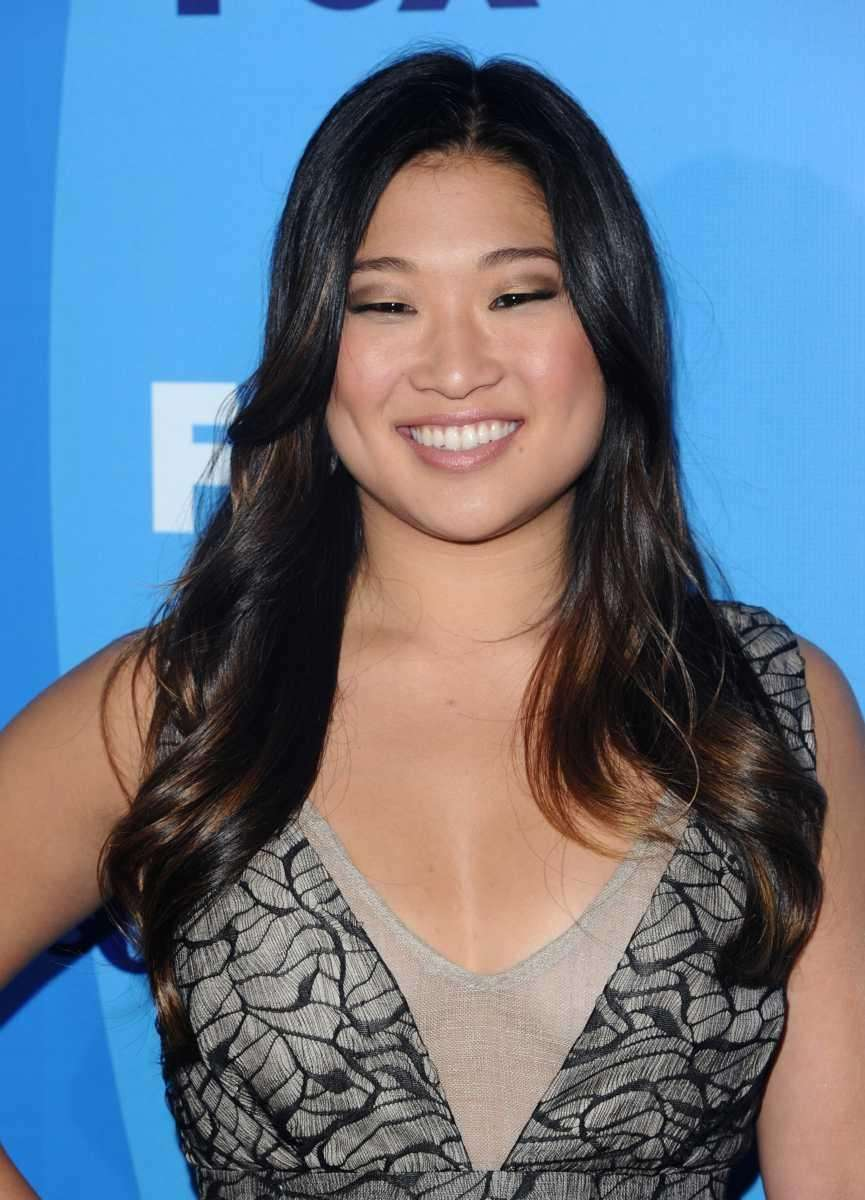 Singer/actress Jenna Ushkowitz, best known for her Broadway