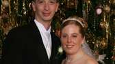 A picture of David Laffer and his wife,