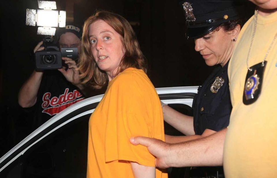 David Laffer's wife of two years, Melinda Brady,