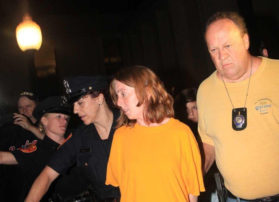 Police said Melinda Brady told them she drove