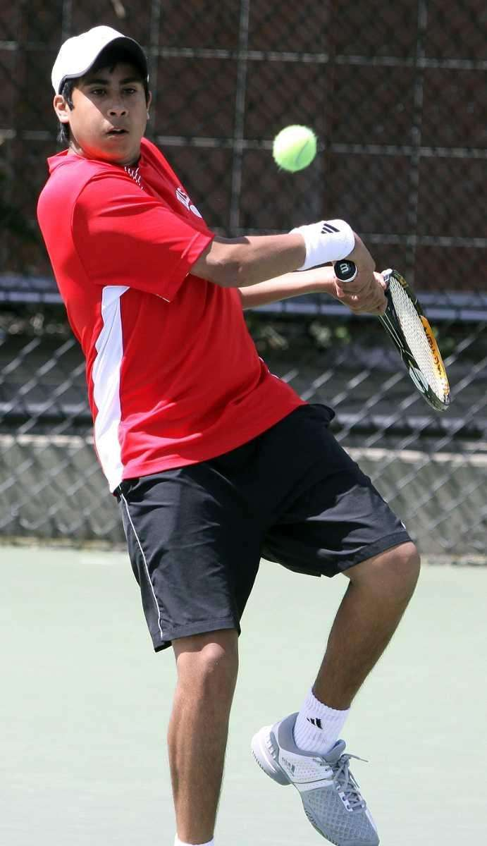 SECOND TEAM Singles Zain Ali, Half Hollow Hills