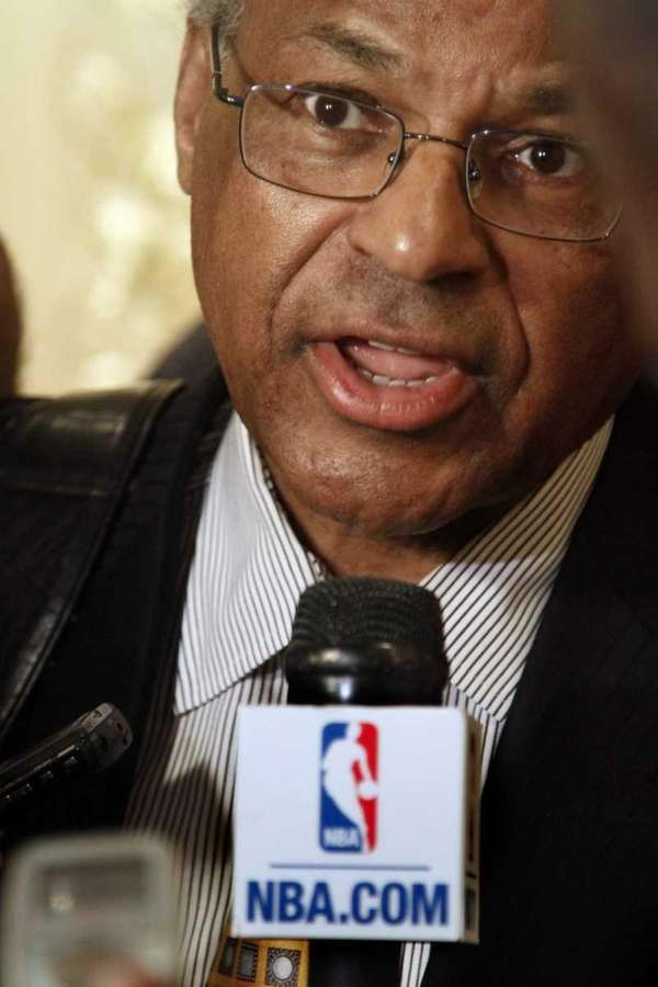 Billy Hunter, executive director of the National Basketball