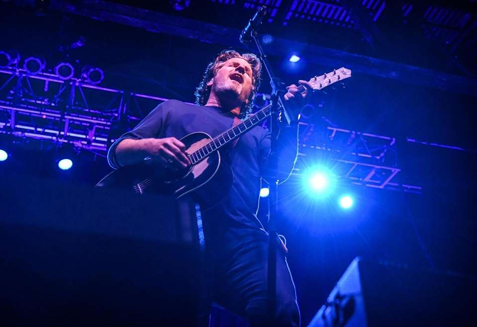 Matt Nathanson performs at the Paramount Theatre in