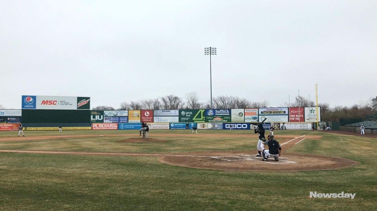The Long Island Ducks held open tryouts on