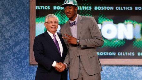 25. MARSHON BROOKS, Boston Celtics (Rights traded to
